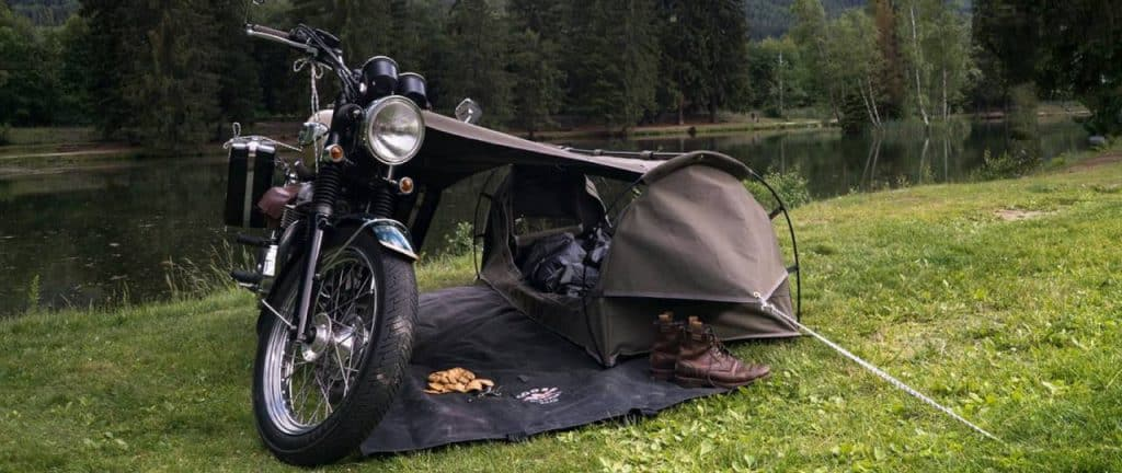 best motorcycle tent
